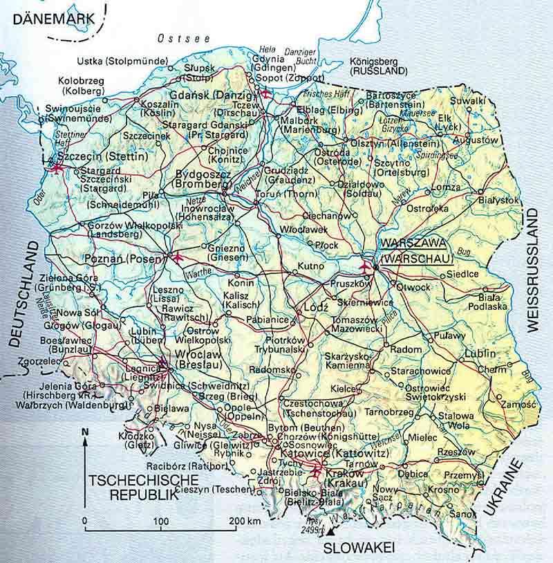 gebirgszüge in europa